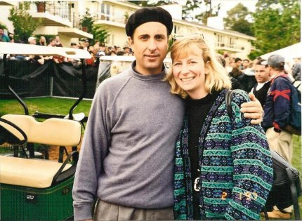 Actor Andy Garcia, Pebble Beach Golf Charity
