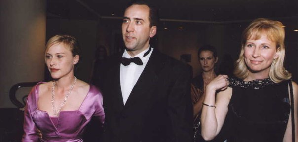 Nick Cage, SF Film Festival, with Patricia Arquette