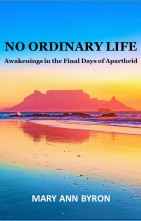 NO ORDINARY LIFE BOOK w Mary Ann Byron for website